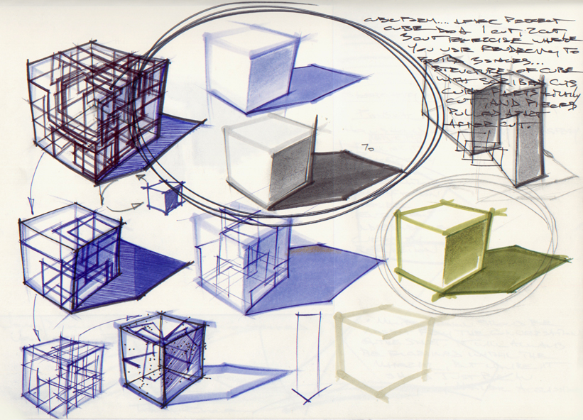 deconstruction and construction | Methodology of Visualization
